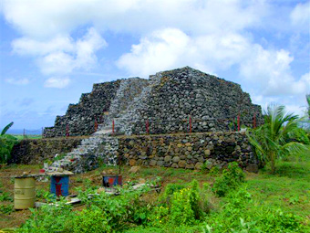 Seven pyramids identified on the African island of Mauritius Maurice04