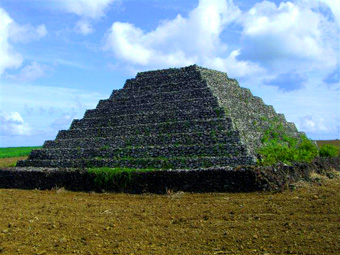 Seven pyramids identified on the African island of Mauritius Maurice11